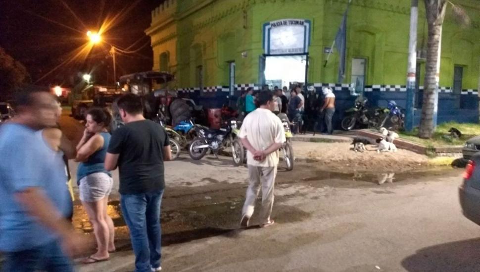 Noche de furia en Alredetes: asesinaron a un taxista y los sospechosos fueron detenidos por los compañeros de la víctima