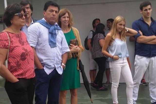 Con los colores de Estudiantes, Alejandro Sabella se casó en La Plata