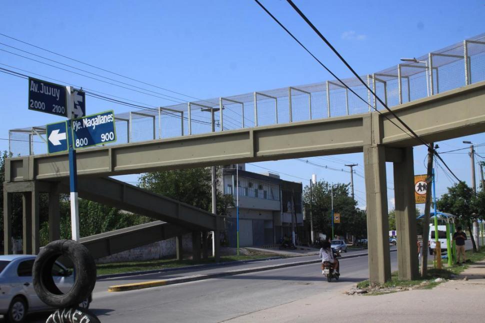 El lunes se inaugura el puente de calle Jujuy al  2.100