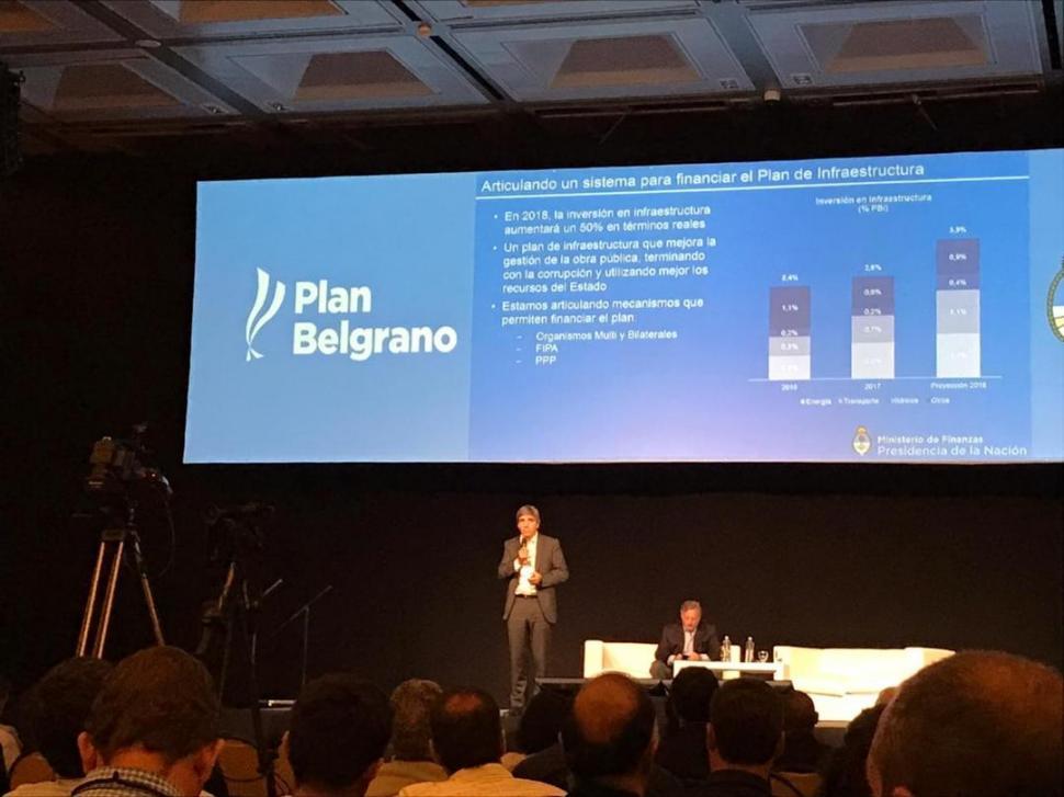 El plan belgrano recibe un espaldarazo de la naci n la for Ministerio del interior y transporte de la nacion