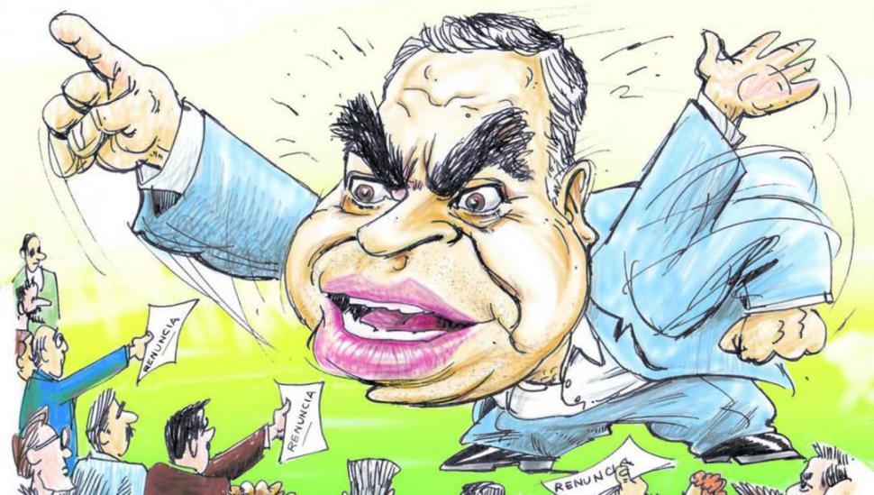 Alfaro le pide la renuncia a todo su gabinete y relanza la gestión