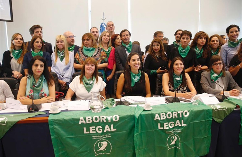 Diputados De Diferentes Bloques Presentaron La Iniciativa Foto Tomada De Lanacion Com Ar
