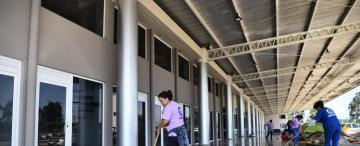 Apuran las obras de la terminal en Concepción