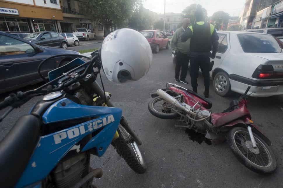Legisladores acuerdan la sanción de una nueva ley contra motochorros
