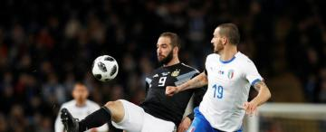 Argentina salió bien parada del partido con Italia