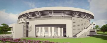 Prometen que con el nuevo Palacio de los Deportes el parque no tendrá más cemento