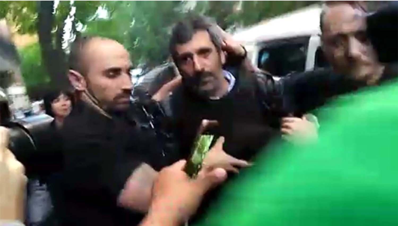 El ex subsecretario de Coordinación y Control de Gestión del Ministerio de Planificación Federal Roberto Baratta cuando fue detenido. ARCHIVO LA GACETA