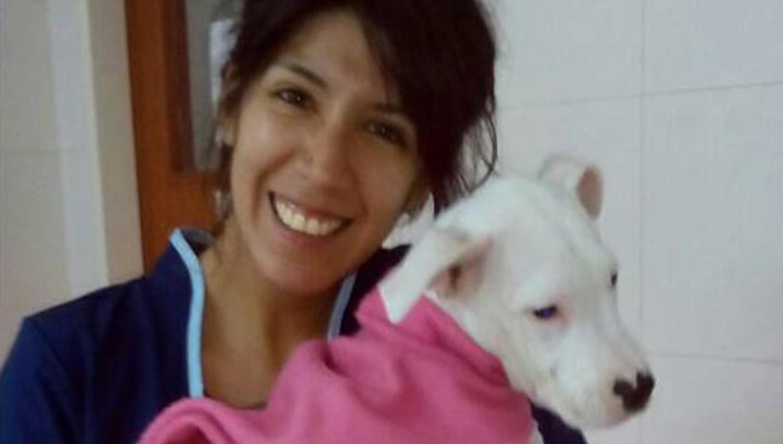AMANTE DE LOS ANIMALES. Ana estudiaba la carrera de Veterinaria y militaba por el rescate mascotero.