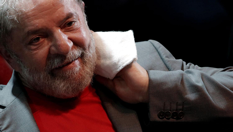 Lula aseguró que no se entregará. REUTERS