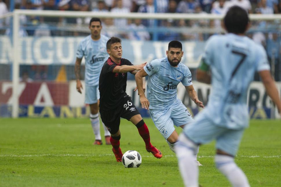 Newell's volvió a robarle la sonrisa del éxito a Atlético