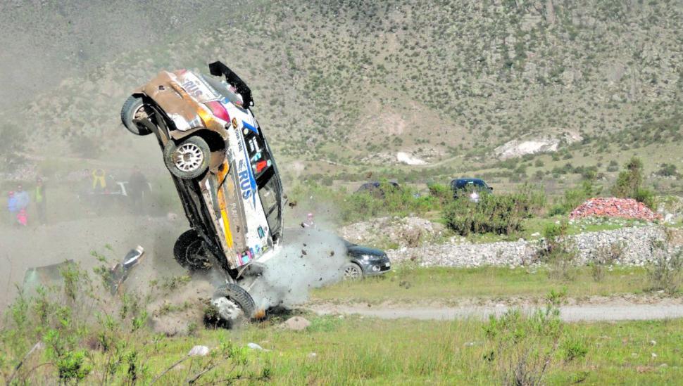 El Rally de Tafí del Valle le dejó un gran susto a Nalbandian y mucha felicidad a Padilla