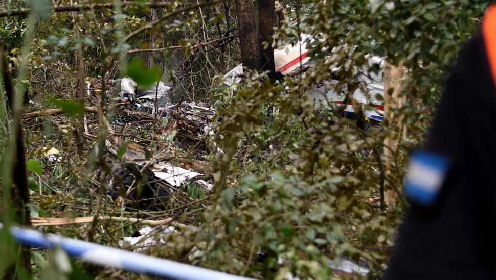 El avión se estrelló a 35 kilómetros de haber despegado