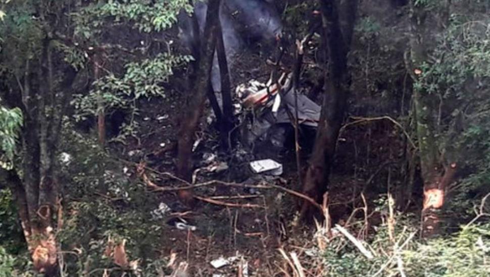 Hallazgo: un helicóptero encuentra los restos