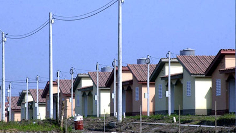 CASAS SOCIALES. La imagen muestra un barrio construido por el Instituto de la Vivienda. ARCHIVO