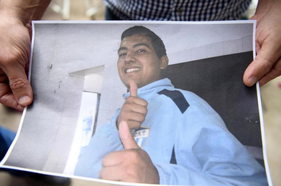 ABREGÚ. Asesinado el 7 de abril.