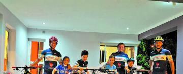 Mountain bike, una pasión familiar en Tucumán