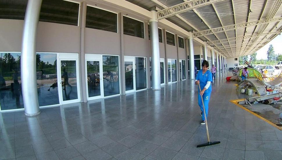 Para recibir a Macri, alistan la terminal de Concepción
