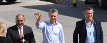 Manzur y Macri intercambiaron elogios en el acto por el reingreso del limón a Estados Unidos