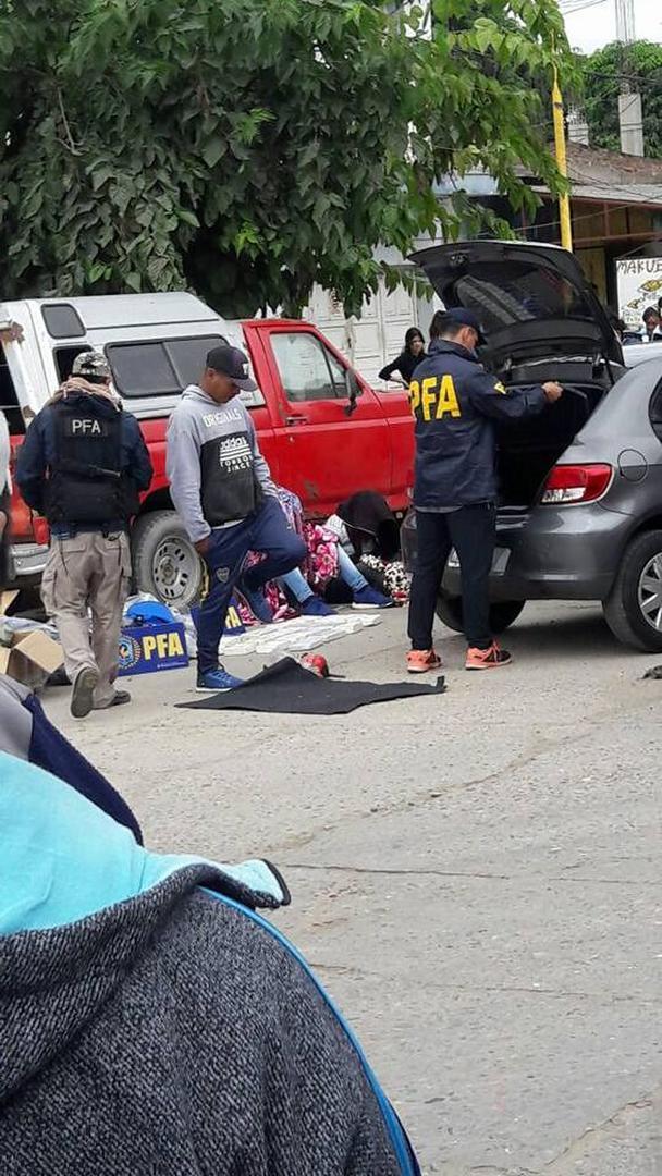 """OPERATIVO. La """"Banda de Mario"""" fue detenida en pleno centro de Orán."""