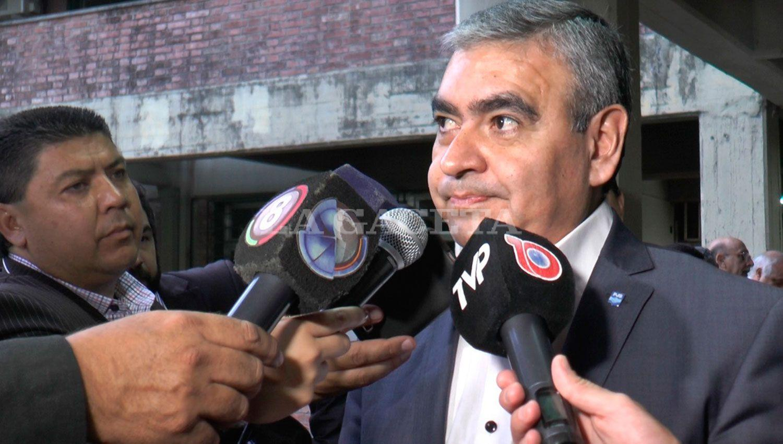 Alfaro se sorprendió por la ausencia de funcionarios de la oposición. LA GACETA/FOTO DE AGUSTINA GARROCHO