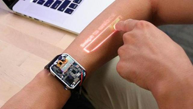 LumiWatch, el smartwatch que convierte tu brazo en pantalla táctil