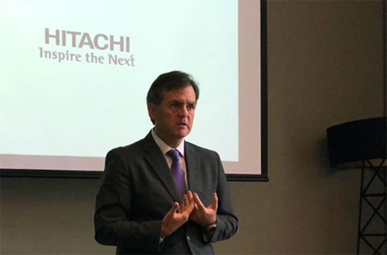 Sergio Severo, vicepresidente de Hitachi. FOTO TOMADA DE COMPUTING.