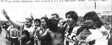 Guillermo Brown inspiró a varios dirigentes de fútbol