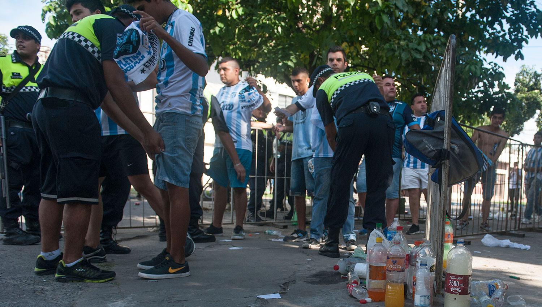 Los controles comenzarán dos horas antes del arranque del partido. LA GACETA/FOTO DE ADRIÁN LUGONES