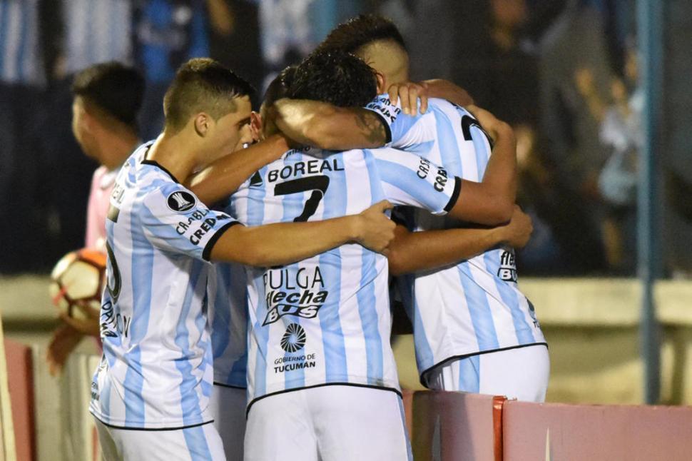 Los jugadores de Atlético quieren ganar mañana para mejorar el promedio en la Superliga