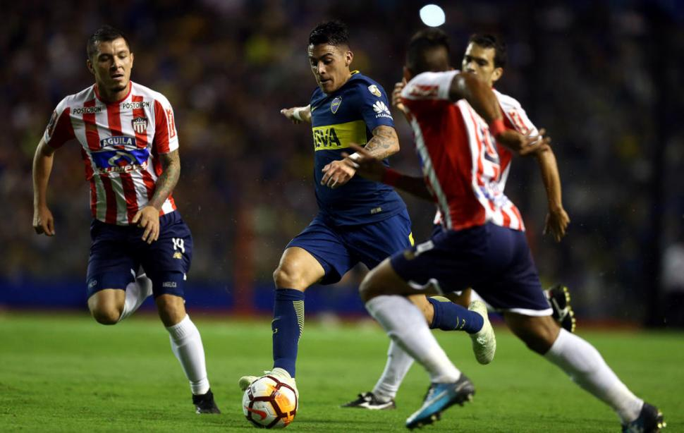 CODICIADO. Pavón es pretendido por varios clubes del fútbol europeo. reuters