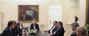 Un respaldo de gobernadores a las gestiones del Presidente