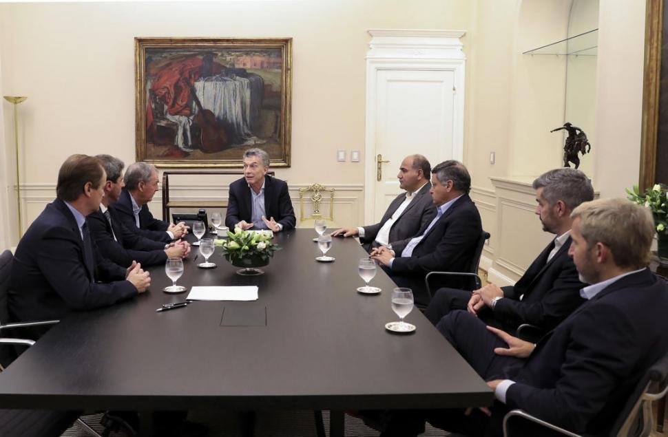 Gobernadores del PJ respaldaron la gestión de Macri