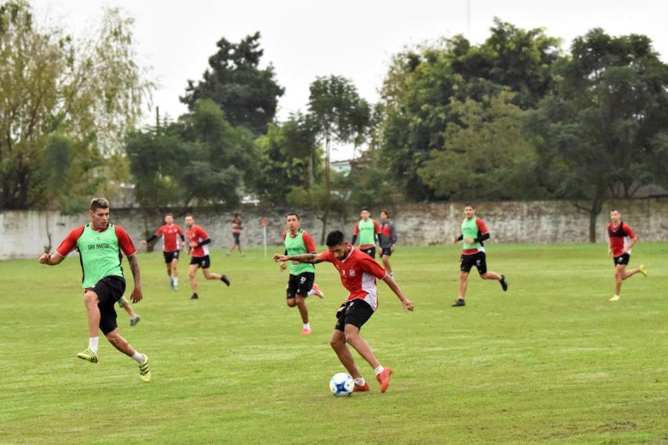 San Martín, con Acevedo, se prepara para la primera semifinal ante Agropecuario
