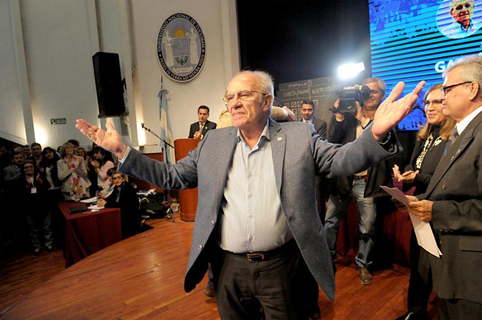 García anunció que bregará por darle calidad a la UNT