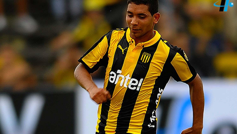 CRistian Palacios (Peñarol). FOTO TOMADA DE www.tenfield.com.uy