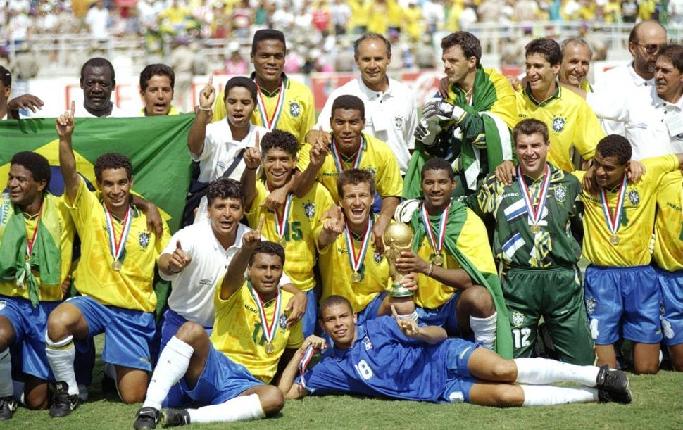 TETRACAMPEÓN. De la mano de un Romario intratable, Brasil logró el cuarto título Mundial en su historia.
