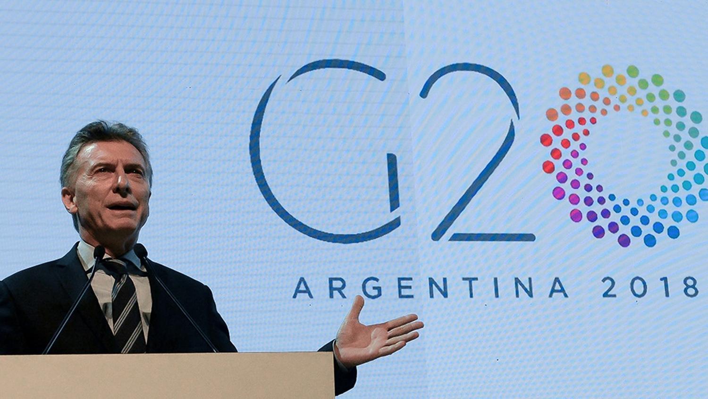 REUNIÓN G20. FOTO DE TÉLAM