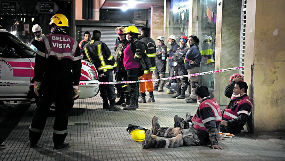 Una triple tragedia fue el epílogo de la obra del ex teatro Parravicini