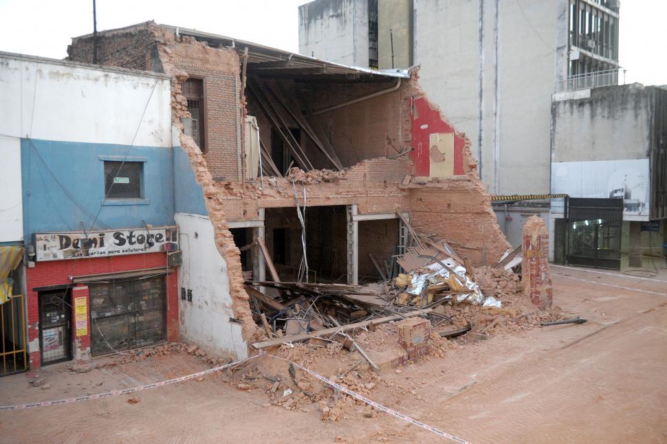 La zona del derrumbe estará cerrada 10 días más