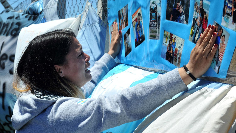 Los familiares de los desaparecidos esperan que el submarino pueda ser hallado. ARCHIVO
