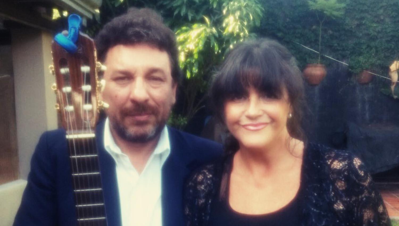 Julián Morel y Mariela Acotto. ARCHIVO