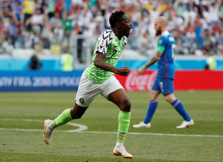 Resultado de imagen para Nigeria gana a Islandia