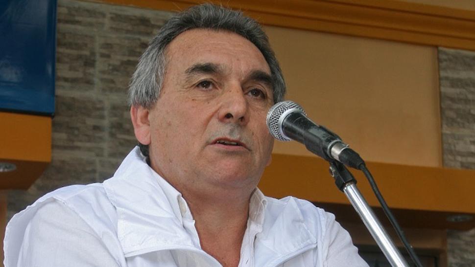 Juan Carlos Schmid, uno de los titulares de la CGT. ARCHIVO