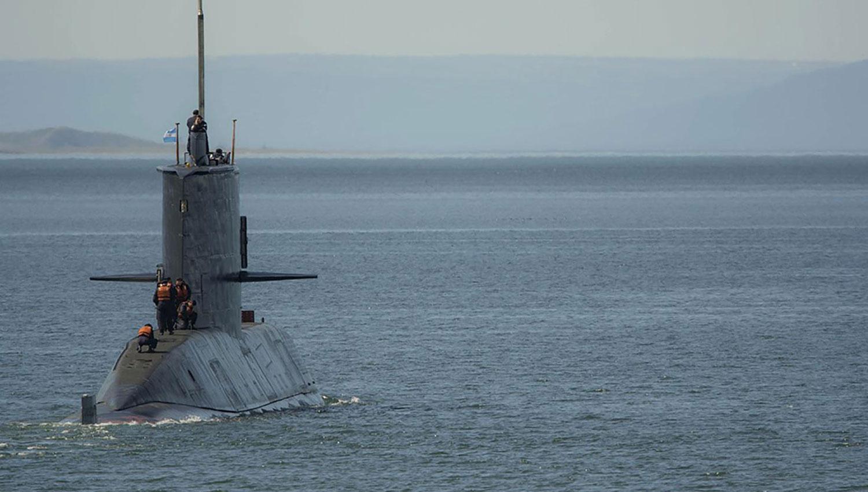 ARA SAN JUAN. Imagen del submarino que desapareció en noviembre de 2017. ARCHIVO