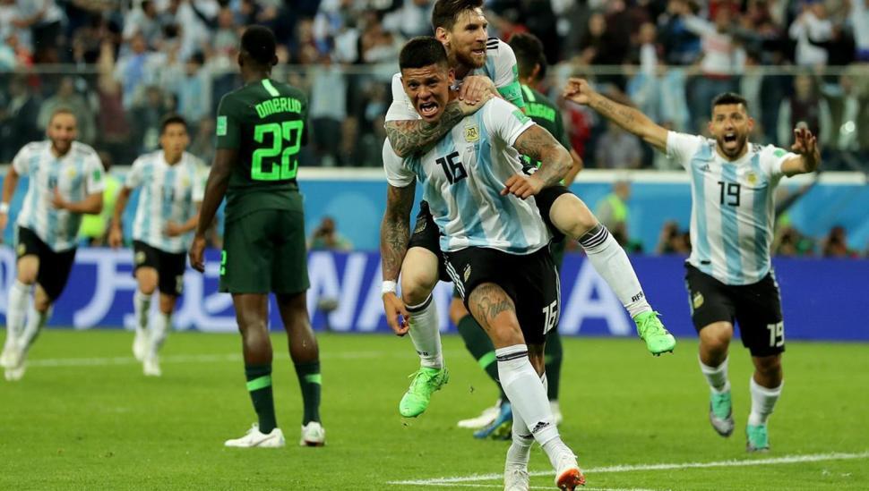 Argentina vive, avanzó a octavos de final y ahora va por Francia