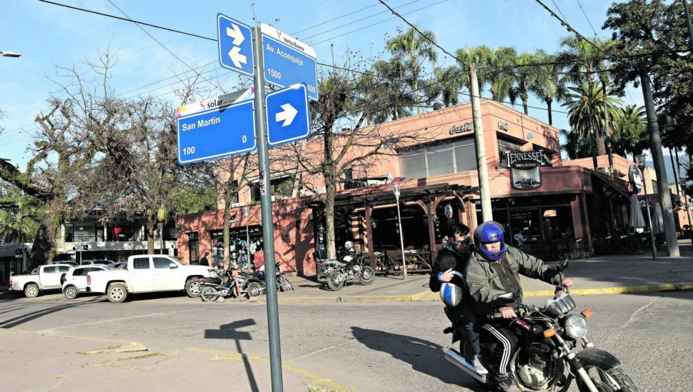 Cómo cambiarán de sentido varias calles de Yerba Buena