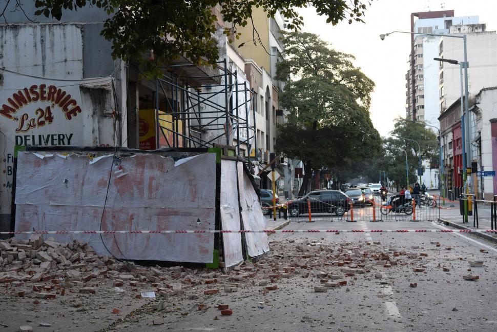 Luego de la demolición, hoy liberarán la 24 de Septiembre