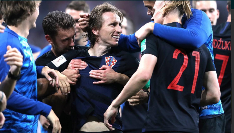 Resultado de imagen para croacia gana a inglaterra