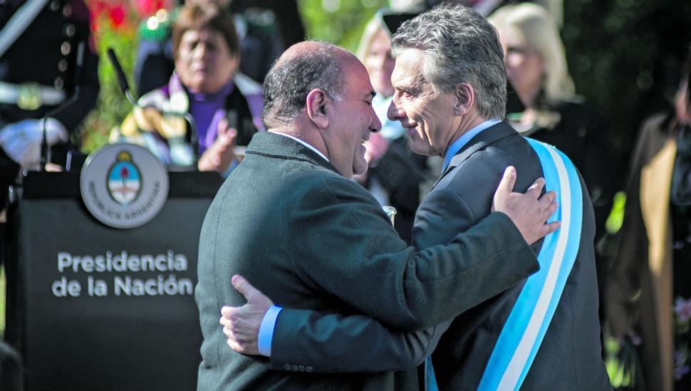 Macri y Manzur se dieron el gusto de disfrutar de la fiesta patria