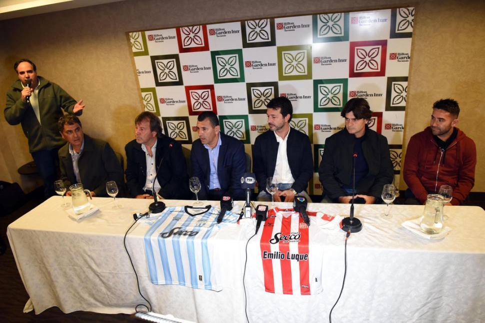 Más unidos que nunca, Atlético y San Martín presentaron los clásicos y un anhelo
